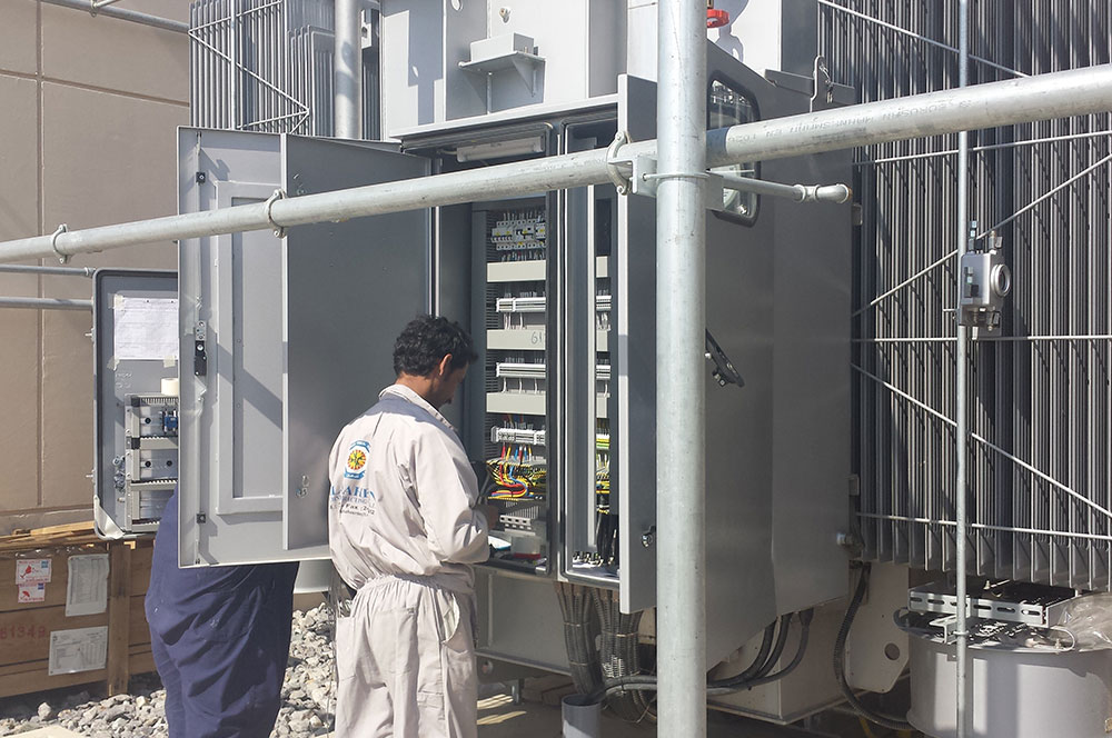 Electrical Work Power Industrial Housing Project Al