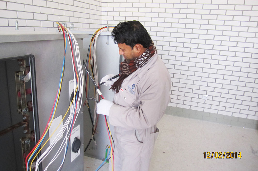 Electrical Work (Power / Industrial & Housing Project) – Al-Shaheen ...